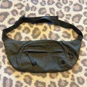 Lululemon Olive Green On the Beat Crossbody Bag